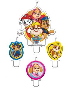 Paw Patrol Party Cake Candles