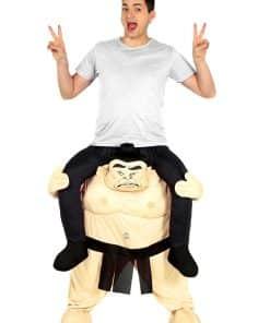 Piggy Back Sumo Costume