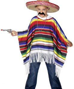 Poncho Child Costume