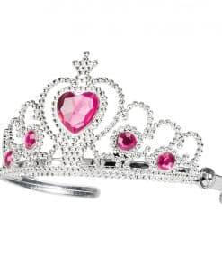 Silver Heart Tiara