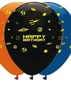 Space Blast Party Balloons