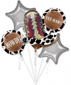 Western Party Balloon Bouquet