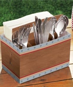 Western Party Cardboard Cutlery Holder