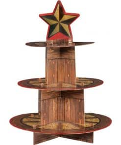 Western Party Cupcake Stand