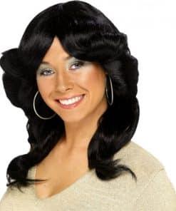 70's Flick Wig - Black