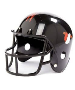 Black American Football Helmet 2