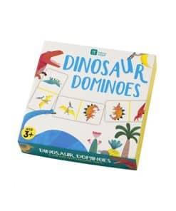 Little Dino Party Dominoes Game