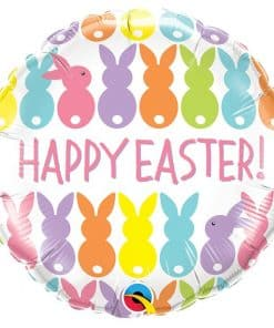 Easter Bunnies Foil Balloon