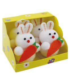 Easter Bunnies with Carrots