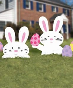 Easter Bunny Lawn Signs