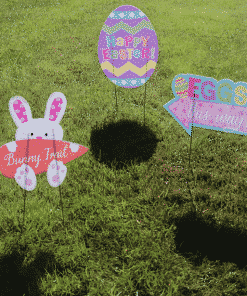 Easter Egg Hunt Lawn Signs