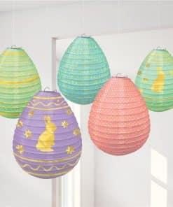 Easter Egg Mini Hanging Lantern Decorations
