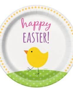 Easter Friends Party Paper Plate