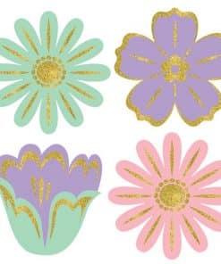 Easter Mini Flower Cutouts