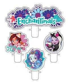Enchantimals Party Candle
