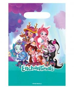Enchantimals Party Plastic Loot Bags