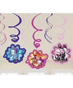 Enchantimals Party Swirl Decorations