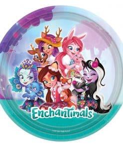 Enchantimals Party Paper Plates