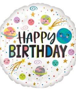 Galaxy Happy Birthday Balloon