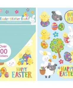 Happy Easter Sticker Book