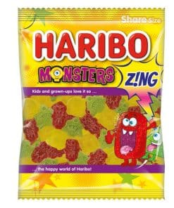 Haribo Monsters Zing Sweets