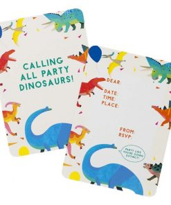 Little Dino Party Invitations
