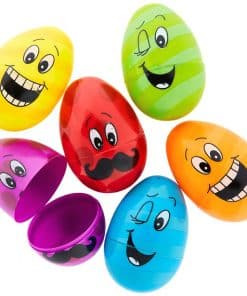 Large Funny Face Fillable Eggs