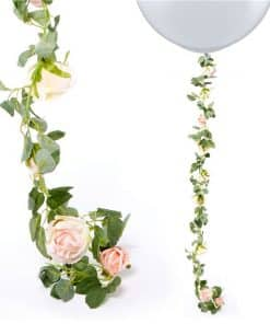 Light Pink Rose Garland