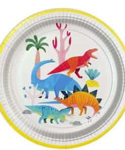 Little Dino Party Plate