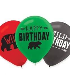 Little Lumberjack Birthday Balloons