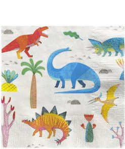 Little Dino Party Lunch Napkins