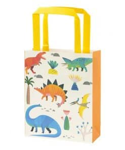 Little Dino Party Paper Treat Bags