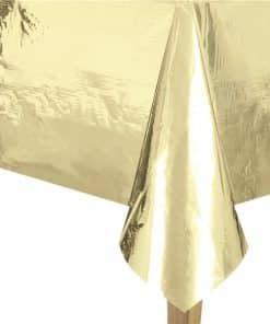Metallic Gold Foil Tablecover