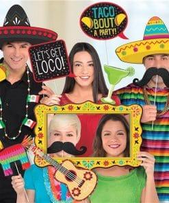 Mexican Fiesta Deluxe Jumbo Photo Props