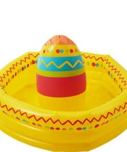 Mexican Fiesta Inflatable Sombrero Drinks Cooler