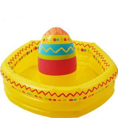 Mexican Fiesta Inflatable Sombrero Drinks Cooler
