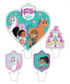 Nella The Princess Knight Party Candles
