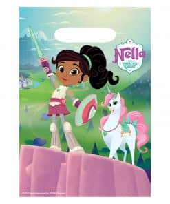 Nella The Princess Knight Party Plastic Loot Bags