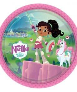 Nella The Princess Knight Party Paper Plates