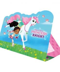 Nella The Princess Knight Party Stand-up Invitations