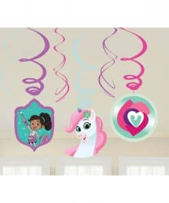 Nella The Princess Knight Party Swirl Decorations