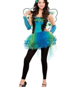 Peacock Diva Child & Teen Costume