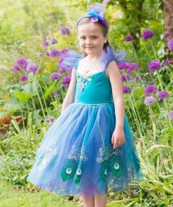 Peacock Fairy Child Costume