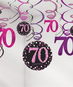 70th Birthday Decorations