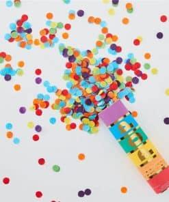 Rainbow Confetti Cannon
