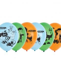 Rusty Rivets Party Latex Balloons