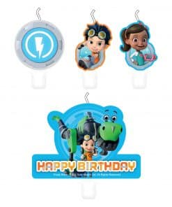 Rusty Rivets Party Candles