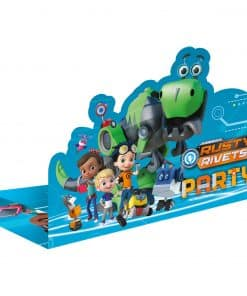 Rusty Rivets Party Stand-up Invitations