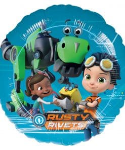 Rusty Rivets Party Foil Balloon