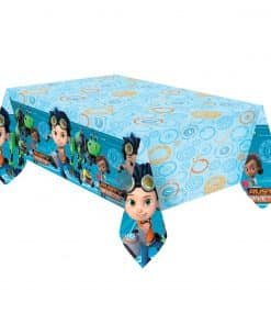 Rusty Rivets Party Plastic Tablecover